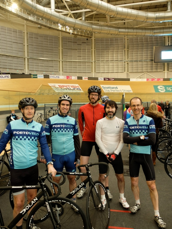 At the Chris Hoy velodrome, 22 March 2014