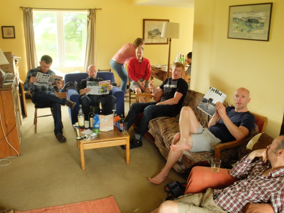 Weekender 2014 - relaxing after the ride