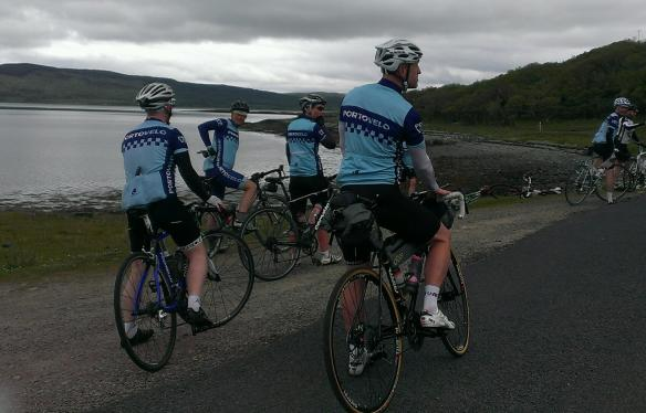 2015 Weekender - the boys in blue, on Mull