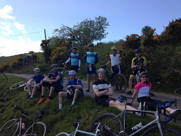 2015 Weekender - waiting at a junction, a few miles from Oban