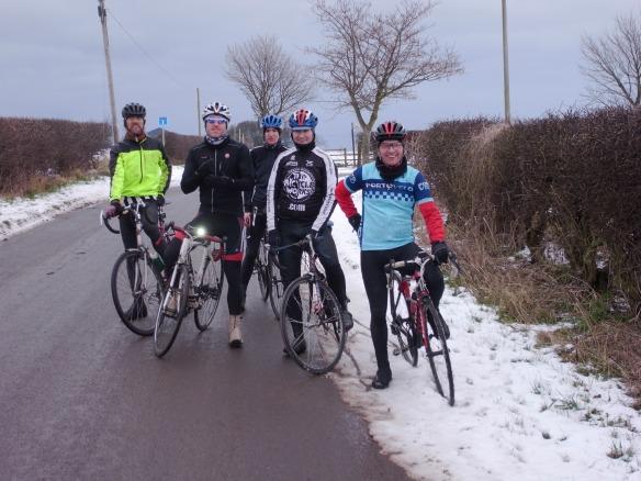 Sunday ride, 20 January 2013, Pencaitland-Haddington road