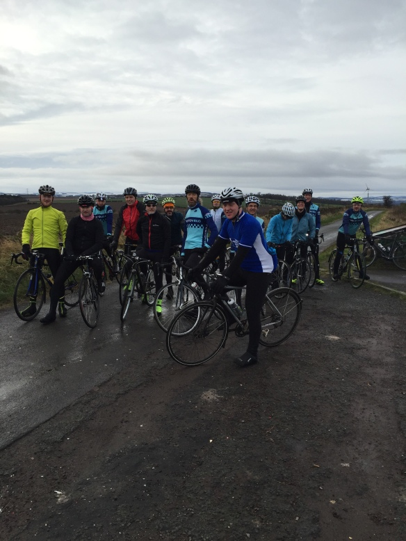 January 2016, regrouping at the top of Fa'side Hill